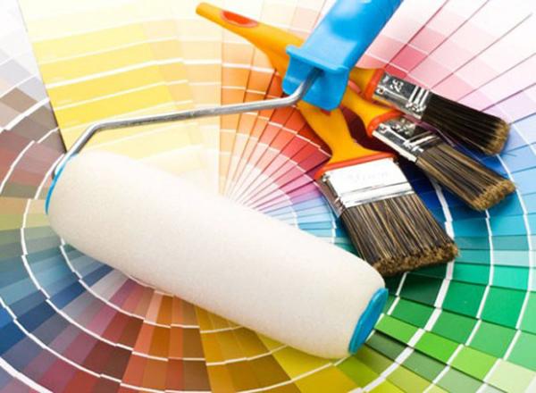 Краски для ремонта квартиры